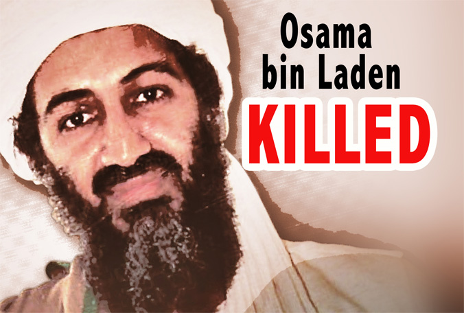 leader Osama Bin Laden has. leader Osama Bin Laden has