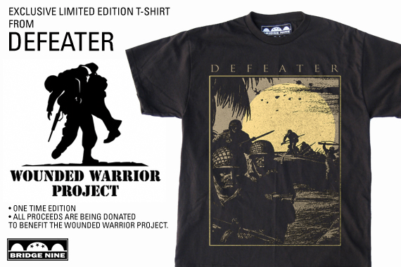 Defeater To Donate Proceeds From Merch To Wounded Warrior ...