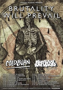 Brutality Will Prevail Announce European Tour With Coldburn and Survival