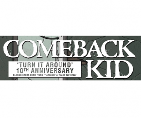 Comeback Kid Reunites With Original Vocalist For Selected Tour Dates