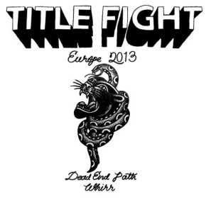 WIN: 2×2 Tickets for Title Fight @ Paradiso, Amsterdam (NL)