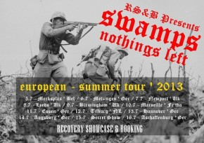 Swamps To Tour Europe This Summer