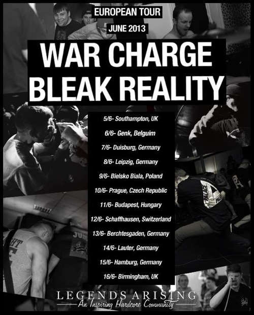 War Charge : Bleak Reality EU Tour