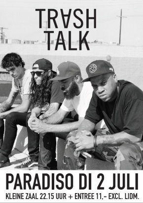 WIN: 2×2 Tickets for Trash Talk @ Paradiso, Amsterdam (NL)