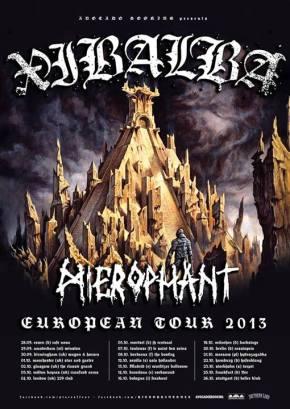 Xibalba Announce European Tour withHierophant