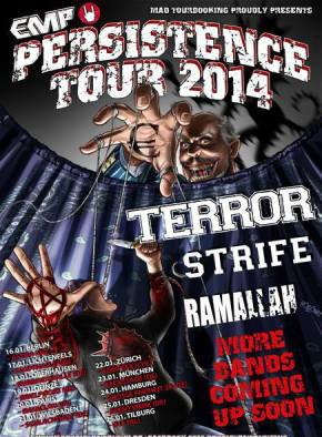 Persistence Tour 2014Announced