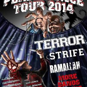 Persistence Tour 2014 Announced