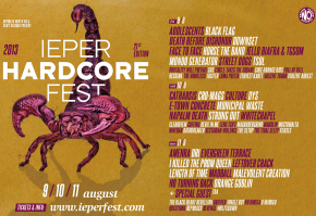 Ieperfest Line-Up Complete and ScheduleOnline