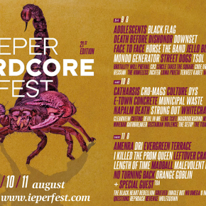 Ieperfest Line-Up Complete and Schedule Online