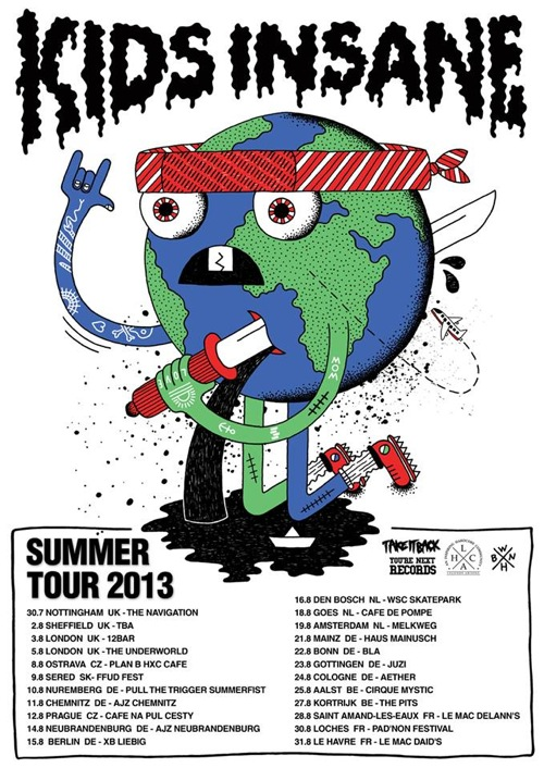 Kids Insane Europe Tour