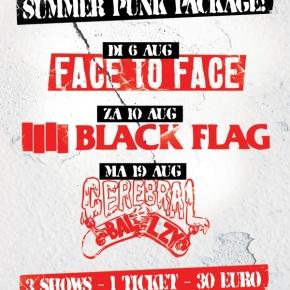 WIN: 2×2 Tickets for Summer Punk Package @ Melkweg,Amsterdam