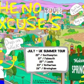 Presents: No Excuse on Tour in United Kingdom