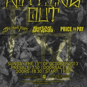 Presents: Rotting Out, Broken Teeth, Survival and Price To Pay