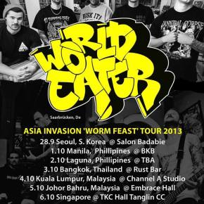 World Eater To Kick Off Southeast Asia Tour