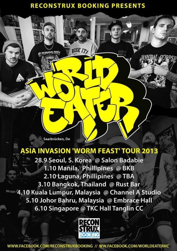 World Eater Asia Tour