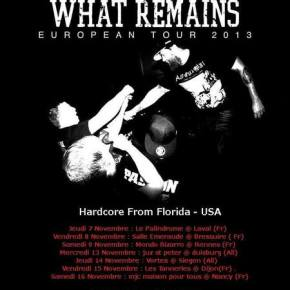 Strengthen What Remains Announce European Tour