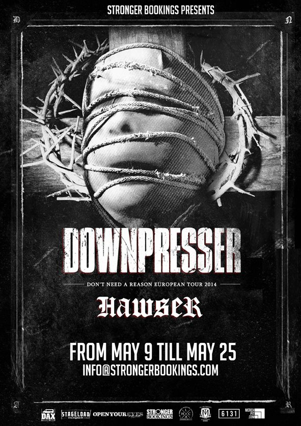 Downpresser EU Tour