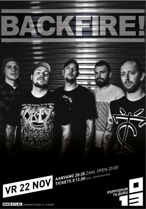 WIN: 2×2 Tickets for Backfire! @ 013, Tilburg