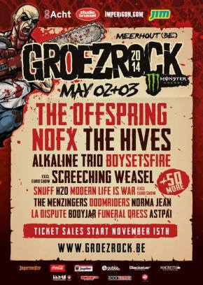 Groezrock Announce First Names 2014Festival