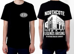 Northcote Festival x Legends Arising Collaboration T-shirt