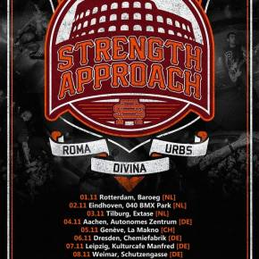 Strength Approach Kick Off European Tour Today
