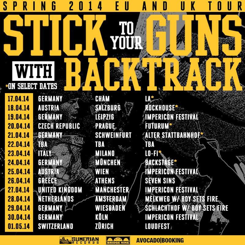Stick To Your Guns Tours