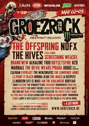 Groezrock Announce More NewNames