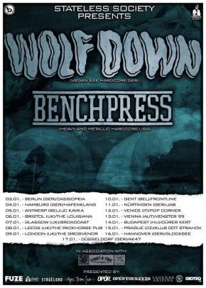Presents: Wolf X Down European Tour withBenchpress
