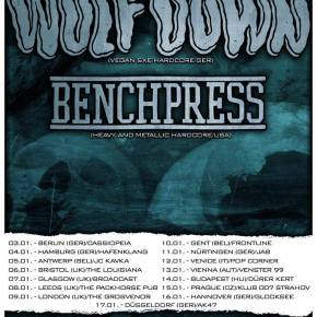 Presents: Wolf X Down European Tour with Benchpress