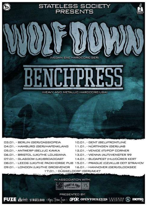 Wolf Down Tour Poster