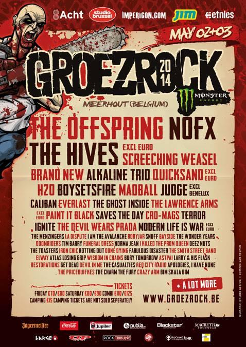 Groezrock 2014 Poster