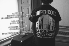 Northcote Collaboration T-shirt and Festival Tickets on Sale at Shows