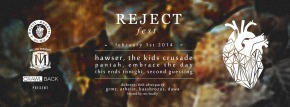 Hawser And The Kids' Crusade To Play At Reject Fest