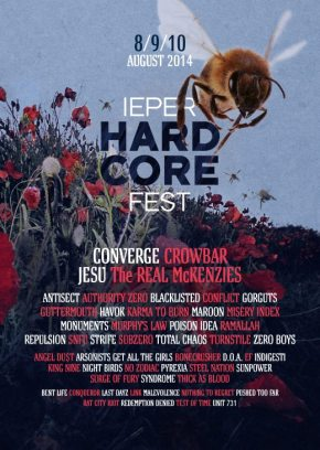 Ieperfest Summer 2014: New Bands Added