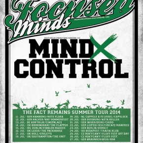 Presents: Focused X Minds and Mind X Control announce EuropeanTour