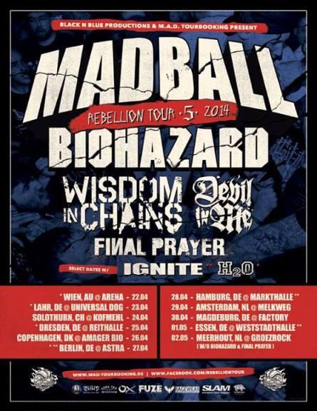 Madball Tour