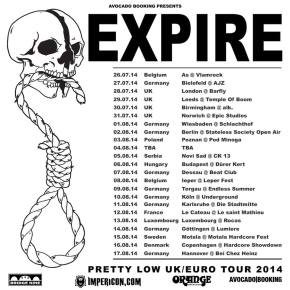 Expire Announce European Tour