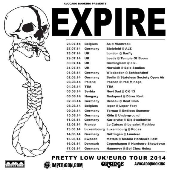 expire tour
