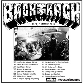 Backtrack Announce European Tour Dates