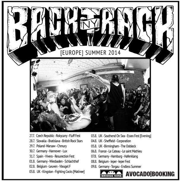 Backtrack European Tour