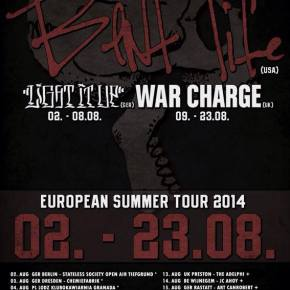 Presents: Bent Life European Tour Dates