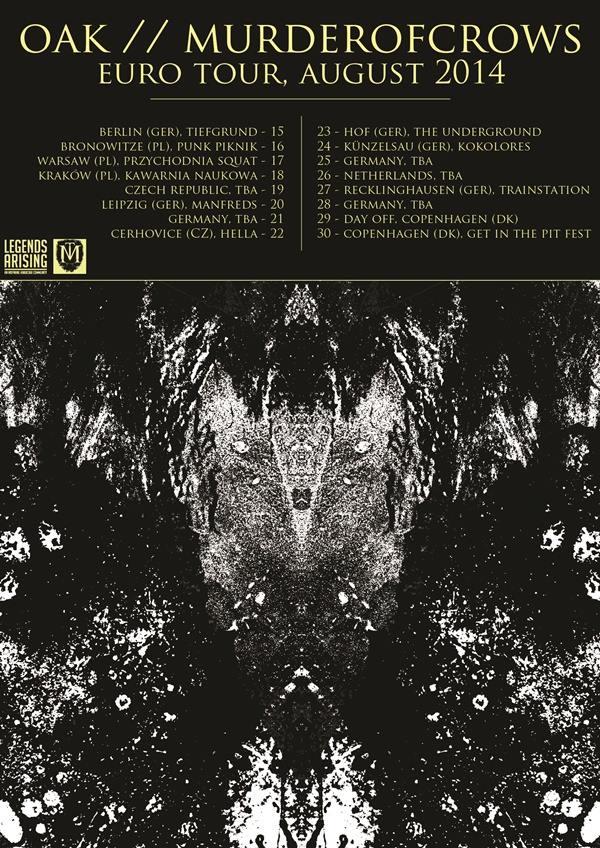 OAK Tour Poster