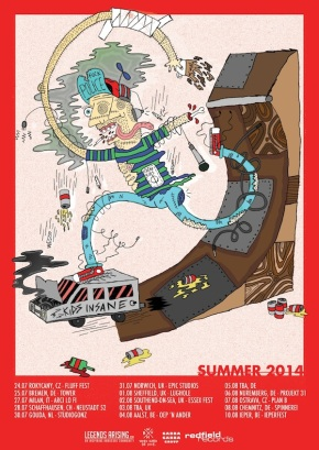 Presents: Kids Insane Announce EuropeanTour