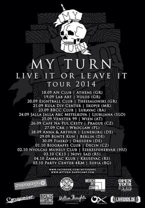 Presents: My Turn Reveal Routing European Tour