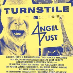 Presents: Turnstile and Angel Du$t Kick Off EuropeanTour
