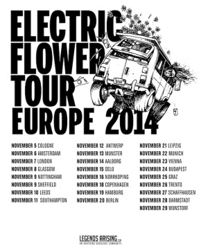 Presents: GIVE Announce EuropeanTour