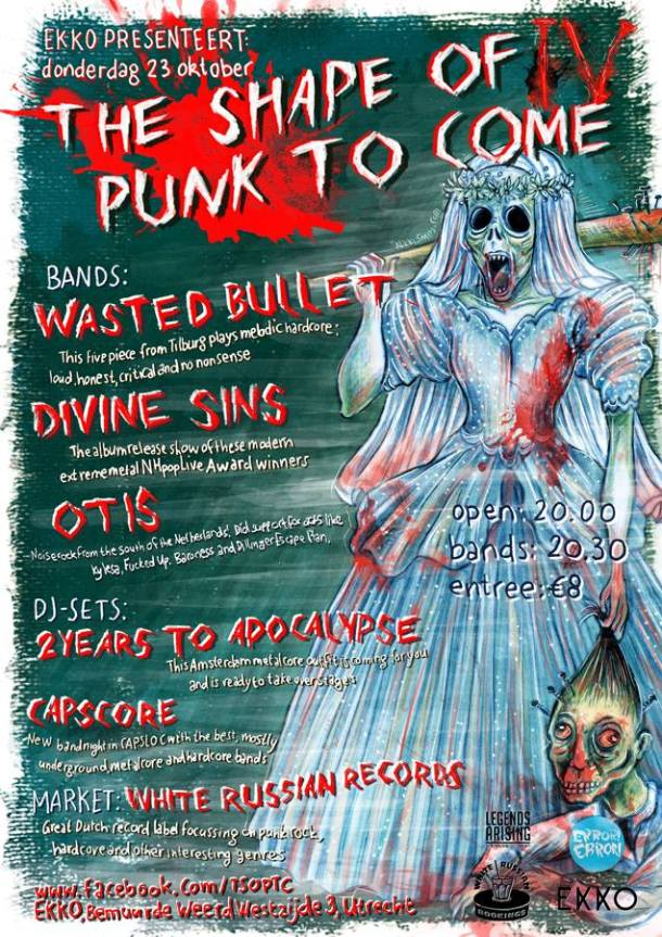 The Shape Of Punk To Come #4