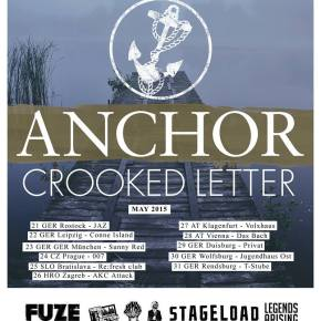 Presents: Anchor Finalize European Tour Routing