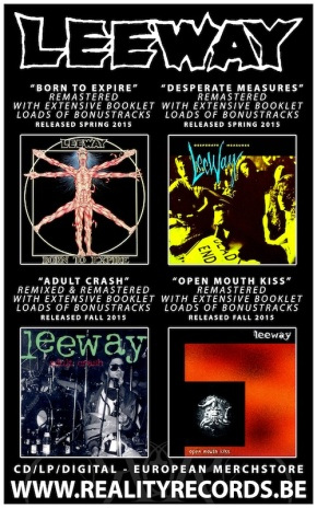 Reality Records To Release LEEWAY Discography