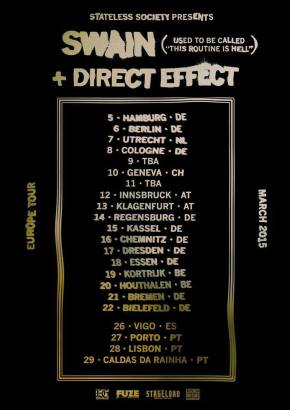 Presents: Swain Announce European Tour with DirectEffect